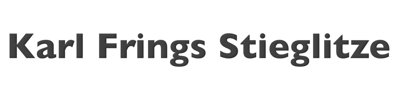 Karl Frings Stieglitze